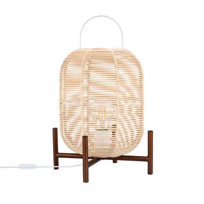 lampe-sur-pied-metal-forme-panier-bois-culot-e27