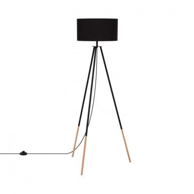 lampadaire-sur-pied-aluminium-noir-141-cm-abat-jour-noir-culot-e27