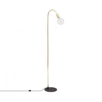 lampadaire-156cm-dore-culot-e27-pied-aluminium-vintage