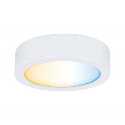 Éclairage de meubles spot Clever Connect Disc Blanc dépoli 12v-2,1W TunableWhite 2700K-6500k