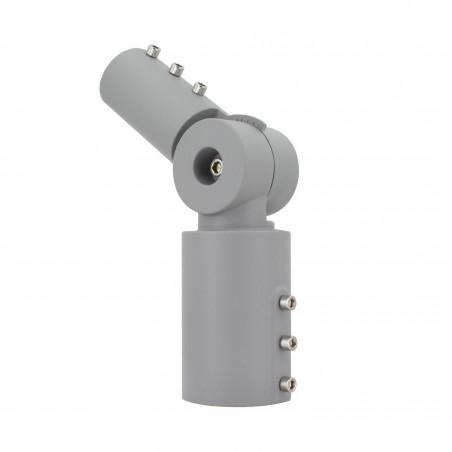 rotule de fixation reglable angle 90° mat 60 mm tete de lampadaire candelabre led