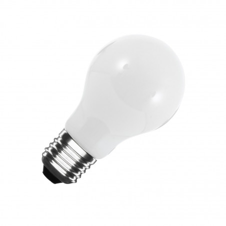 Ampoule LED e27 standart a60 verre blanc-220-240v-8w-800 lumens