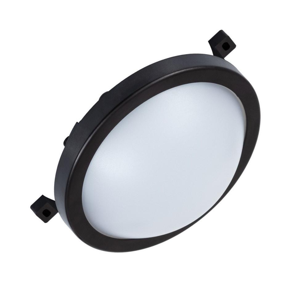 applique plafonnier ip54 hublot led exterieur rond noir