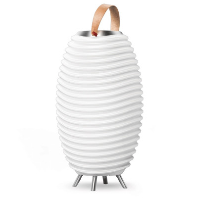 Lampe à poser synergy 35s rechargeable bluetooth sceau bouteille-kooduu