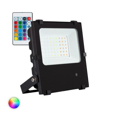 projecteur-30w-rgb-couleurs-noir-ip65-rocaille-jardin