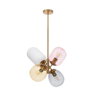 Suspension luminaire suspendu plafonnier 4 culot e27