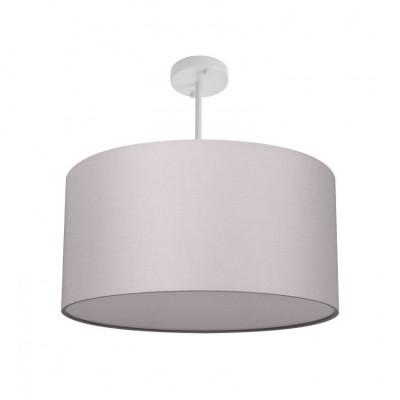 Suspension luminaire plafonnier culot e27 gris