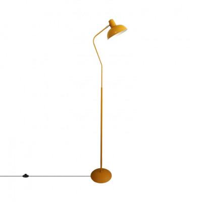 lampadaire-lampe-sur-pied-aluminium-jaune-culot-e27-style-retro