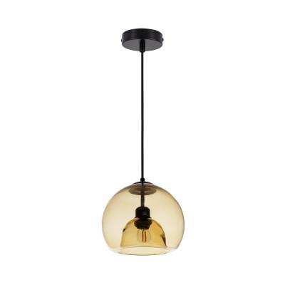 suspension-luminaire-suspendu-boule-verre-jaune-culot-e27