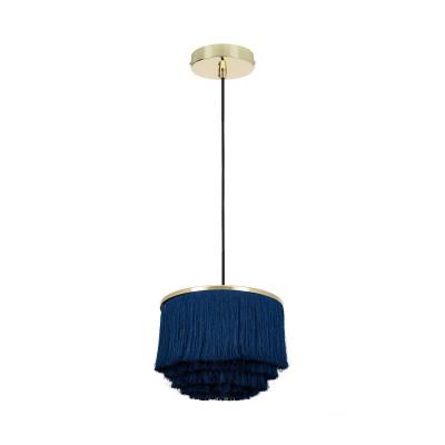 suspension-luminaire-suspendu-culot-e27-metal-dore-et-abat-jour-bleu