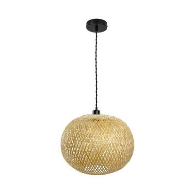 suspension-luminaire-suspendu-culot-e27-abat-jour-tresse