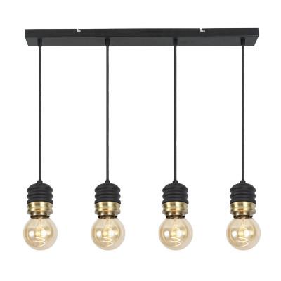 suspension-luminaire-68cm-suspendu-noire-4x-culot-e27
