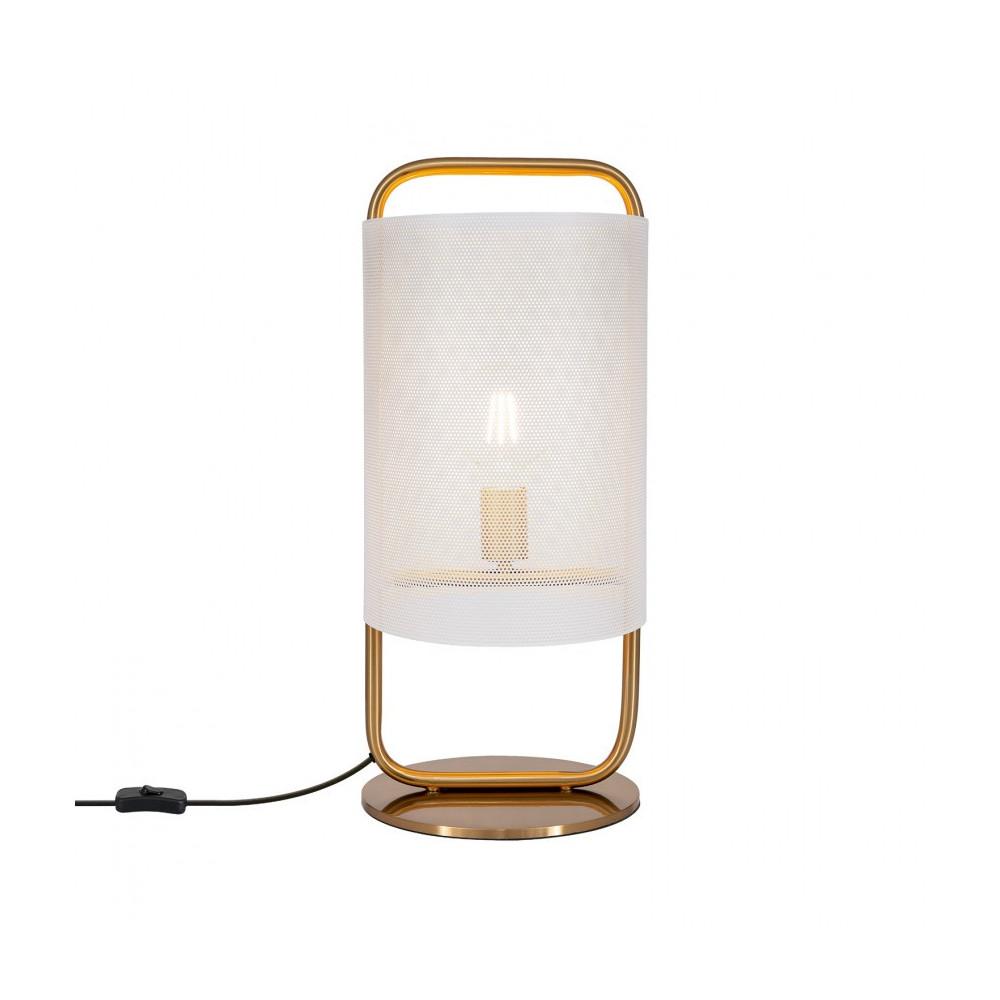 lampe-de-table-metal-dore-culot-e27-style-abat-jour-blanc