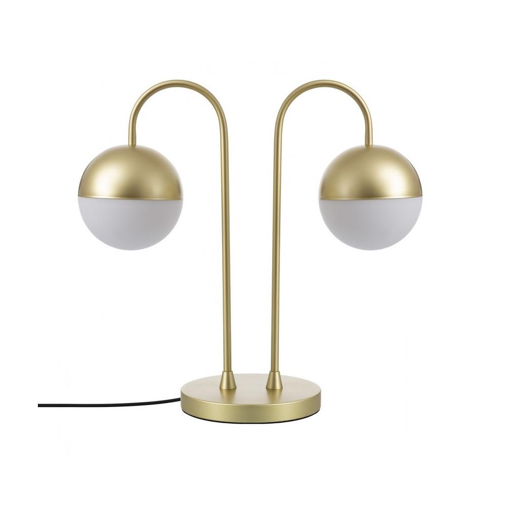 lampe-sur-pied-table-dore-double-oule-culot-g9