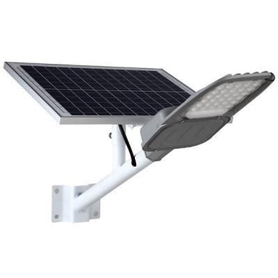 kit-support-mural-candelabre-solaire-led-100w-panneau-solaire-crepusculaire-temporise-telecommande