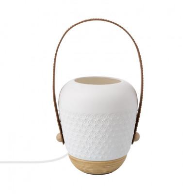 lampe-a-poser-ceramique-blanche-culot-e27-forme-panier