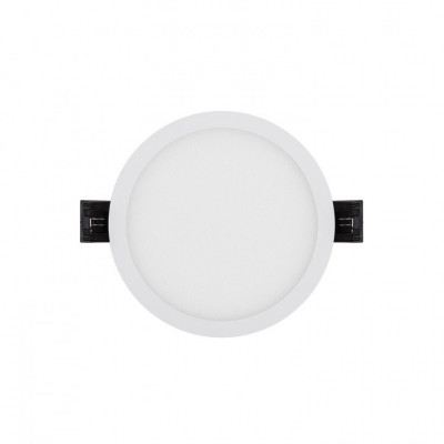 Downlight spot led rond blanc encastrable 8w-960 lumens
