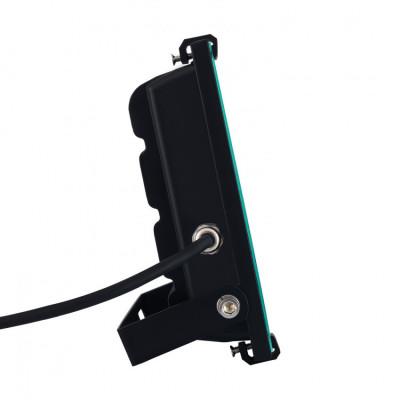 Projecteur à Led 20W ultra plat étanche exterieur noir-2700 lumens