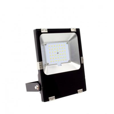 Projecteur led 30w-3300 lumens-ip65 professionnel ultra plat variable