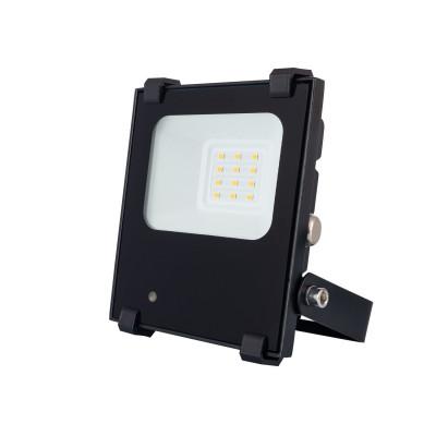 Projecteur à Led 20W détecteur rf-noir ultra fin-ip65-2700lm-étanche extérieur