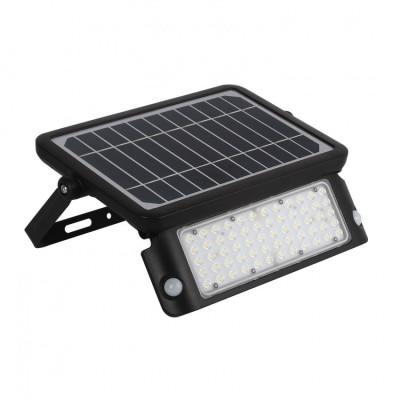 Projecteur applique solaire 10w led détecteur de mouvement-1000 lumens