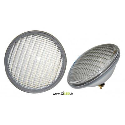 Ampoule piscine couleurs 35w led par56 rgb radio rf
