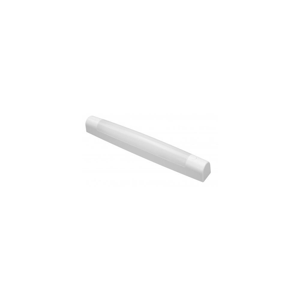 Reglette led 8w sdb cuisine ip44 43cm blanc-cct-820lm-classe 2