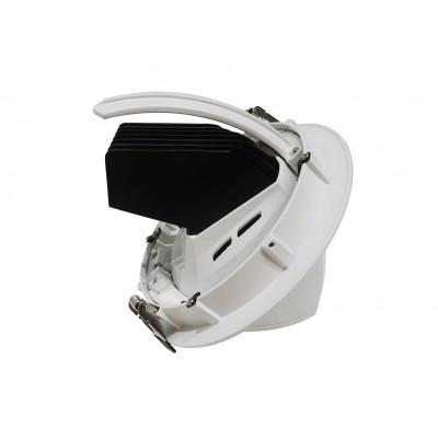 Encastrable escargot led 42W ROND blanc orientable 4000k