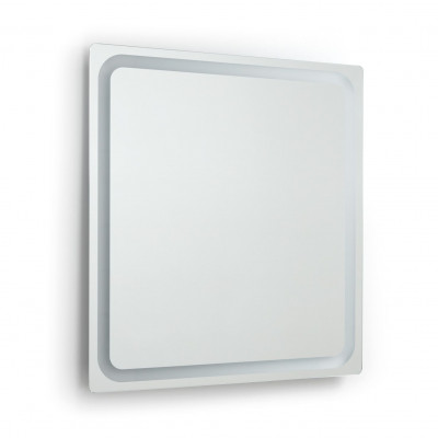 Applique miroir Salle de bain MINERVA 80cm TOUCH-ip44 chromé 4000k