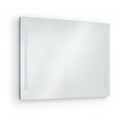 Applique miroir Salle de bain AFRODITA 100cm-ip44 chromé 4000k
