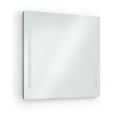 Applique miroir Salle de bain AFRODITA 80cm-ip44 chromé 4000k