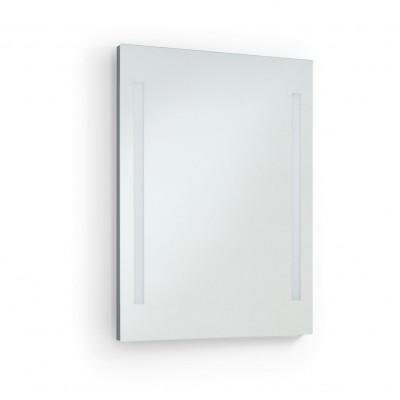 Applique miroir Salle de bain AFRODITA 60cm-ip44 chromé 4000k