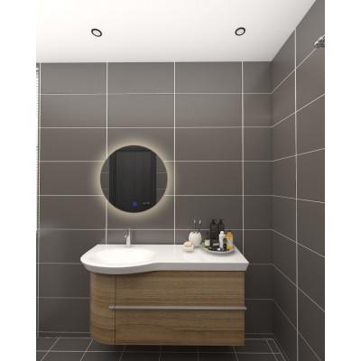 Miroir led salle de bain décoration dressing rond 45cm ip44