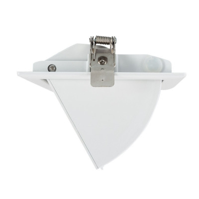 Encastrable 20w orientable rectangulaire blanc type halogène iodure 240x145mm-2600 lumens cct