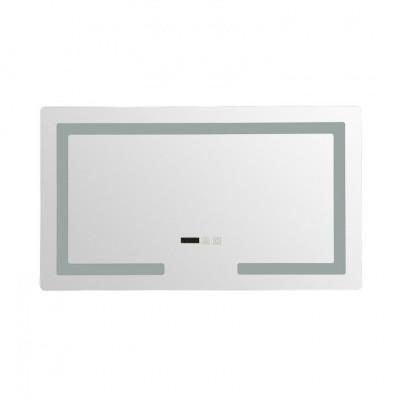 Miroir led 30w salle de bain décoration dressing rectangle 70cm ip44