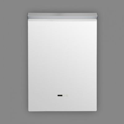 Miroir led 40w salle de bain décoration dressing rectangle 85cm ip44