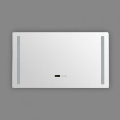 Miroir led 46w salle de bain décoration dressing rectangle 80cm ip44