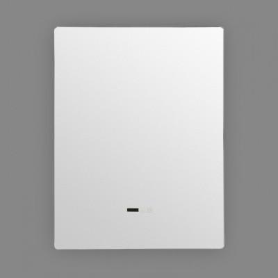 Miroir led 45w salle de bain décoration dressing rectangle 80cm ip44