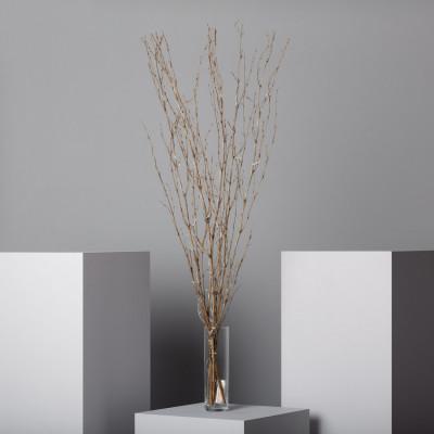 Branche décoration led a piles fêtes 1.2m blanc chaud 3000k