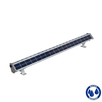 Lèche mur solaire led 20w-800 lumens crépusculaire éclairage enseigne