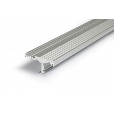 Profil aluminium 1m marche escalier pour ruban led