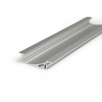 Profil aluminium 1m indirect couloir balisage pour ruban led