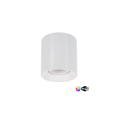 plafonnier-blanc-wifi-rond-rgbw-4w-led-saillie