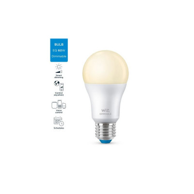 Ampoule e27 8w led 2700k variable Bluetooth wizmote wifi wiz Philips