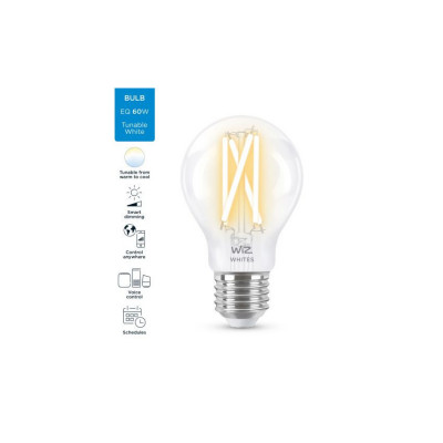 Ampoule e27-7w led cct variable Bluetooth wizmote wifi wiz Philips
