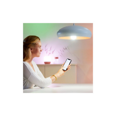 Ampoule e27 8w led cct variable Bluetooth wizmote wifi wiz Philips