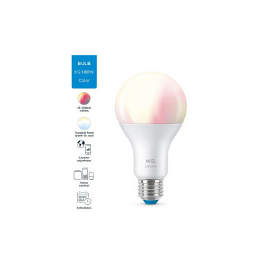 Ampoule 13w led rgb+cct variable Bluetooth wizmote wifi wiz Philips