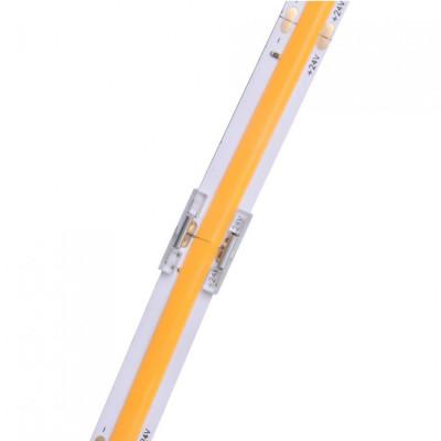 Connecteur jonction pour ruban led 24v-ligne cob continu 8mm