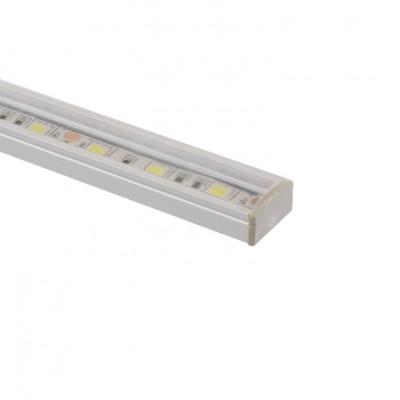 Profilé Aluminium avec diffuseur Continu pour Ruban LED
