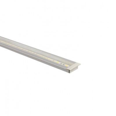 Profilé Aluminium a56 avec diffuseur Continu pour Ruban LED